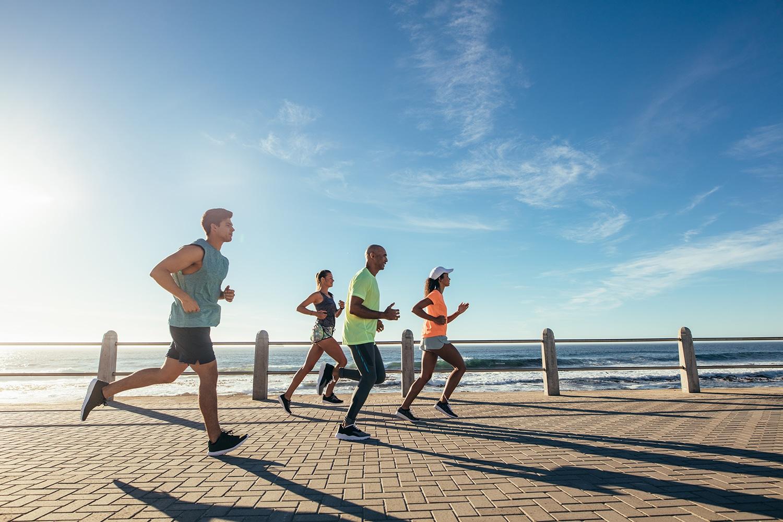 beach-runners